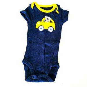 Newborn Onesie | One Piece Pyjamas Dog Car